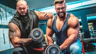 Brutale Arm Vernichtung!! Ansage an Strongman Dennis Kohlruss!! / Stofftiere