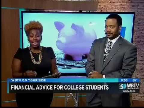 Glen Wright Worth Financial CEO on WBTV - Financial Advice For College Students