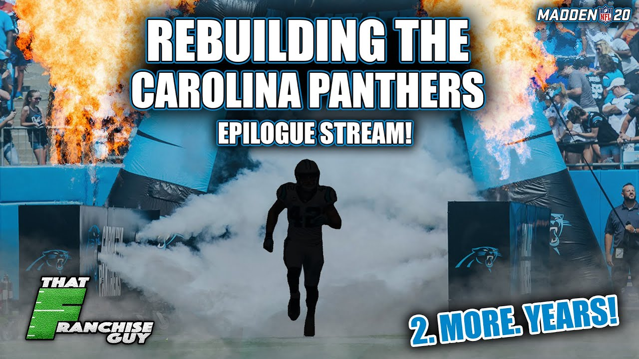 A Realistic Rebuild Of The Carolina Panthers | OFFICIAL FINALE! #FixMaddenFranchise
