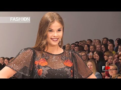 ALENA GORETSKAYA Belarus Fashion Week Fall Winter 2017 2018 - Fashion Channel