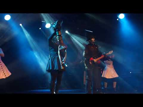 Steam Powered Giraffe - Diamonds cover  at the Asylum Steampunk Festival