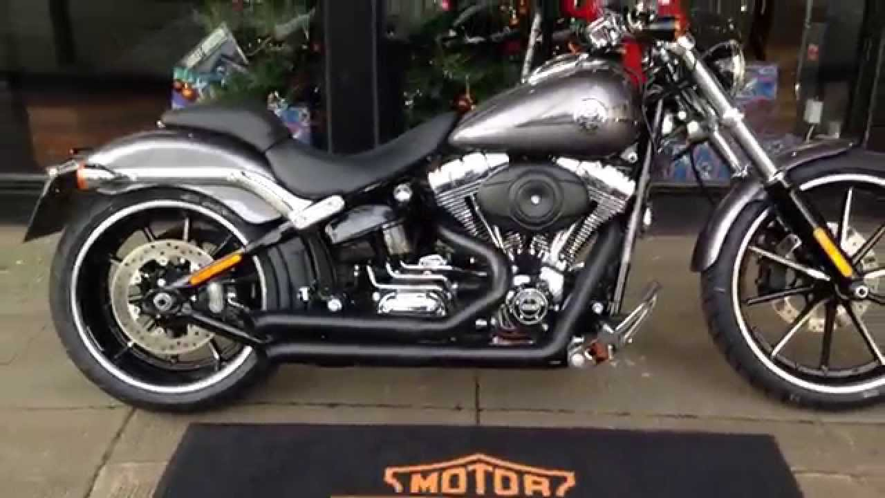 2015 Harley Davidson Custom Breakout With Vance And Hi: 2015 HARLEY-DAVIDSON SOFTAIL BREAKOUT FXSB BESSANI PIPES