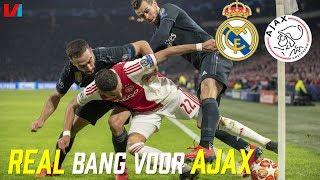 CL TALK: ''Real Madrid is echt wel Bang voor Ajax!'