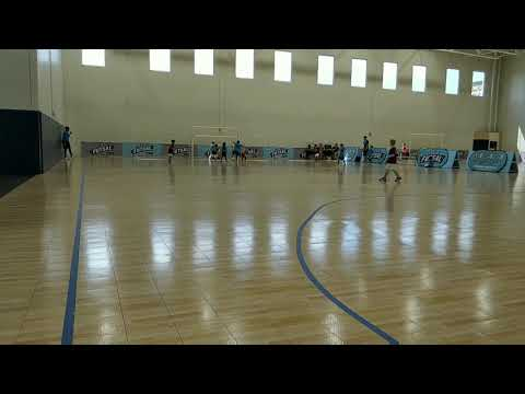 Hayes' first goal in his first futsal game!