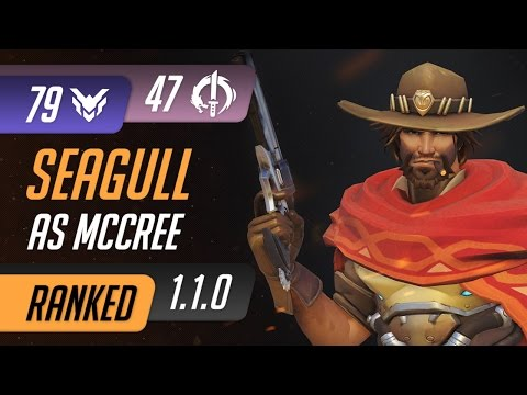 [Rating:79] LG Seagull as McCree reach 47 Elims on Ilios Control / Overwatch Ranked Gameplay