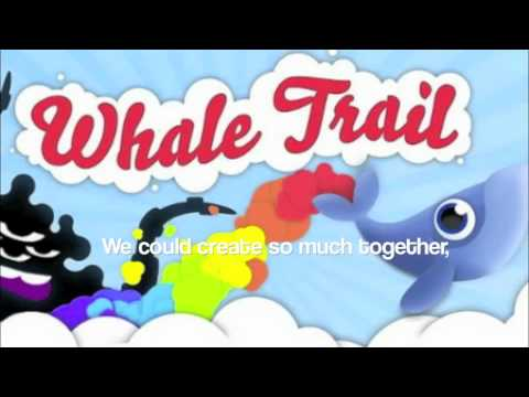 Gruff Rhys - Whale Trail (Lyrics on Screen)