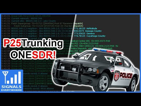 RTL SDR Setup P25 Trunking With 1 SDR and DSDPlus FastLane