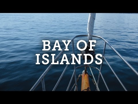 BAY OF ISLANDS BOAT TOUR, NEW ZEALAND TRAVEL VLOG