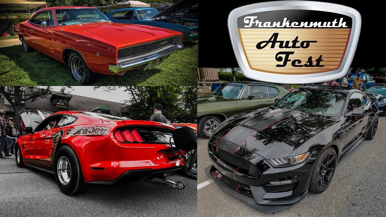 Frankenmuth Car Show 2020.Frankenmuth Auto Fest 2019