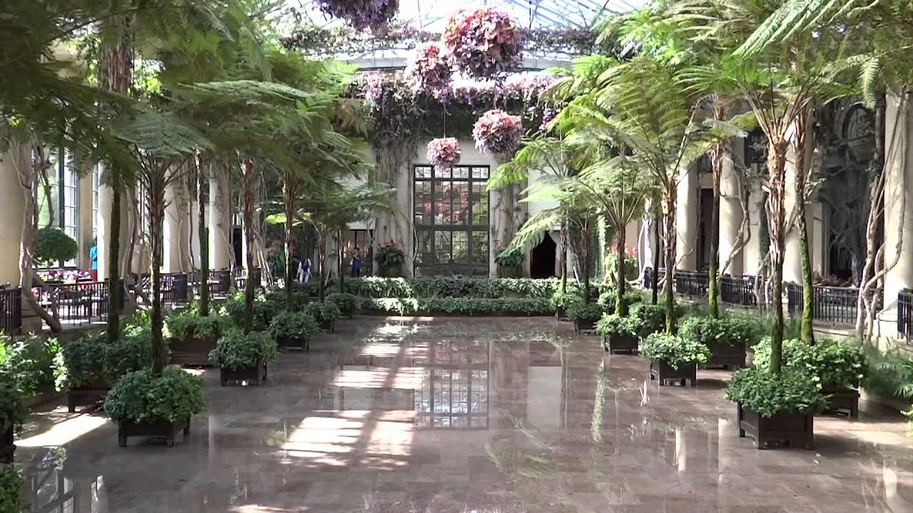 Beau Kennett Square, Pennsylvania   Longwood Gardens   Conservatory HD (2015)
