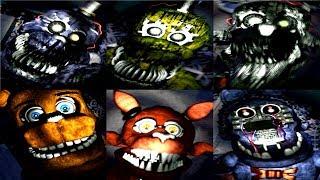 NEW FNAF 4 Nightmare Nights: All Jumpscares (SECRET)