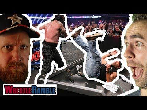 Undertaker & Shawn Michaels BEGINS (Again)! WWE Super ShowDown 2018! | WrestleTalk WrestleRamble