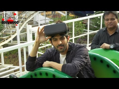 Kartik Aaryan Unveils 1st Virtual Reality Coaster Ride 'Tunnel Twister' With VR Headgear