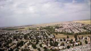AR Drone Parrot 2.0 High Flight Green Valley Ranch Altitude Test
