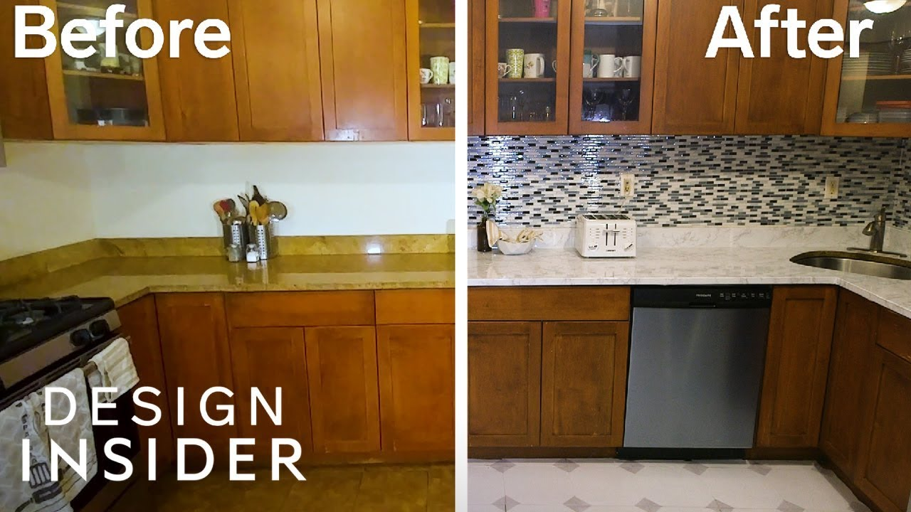 Transform Your Rental Kitchen With 3 Removable Products Youtube