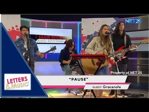 GRACENOTE - PAUSE (NET25 LETTERS AND MUSIC)