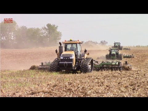 DISKING 1,000 ACRES PER DAY | 8 Tractors Totaling 4,340 Horse Power