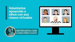 """Escuelita Virtual de Karen Pérez Chatú, a """"Sana Distancia"""" con César Hernández"""