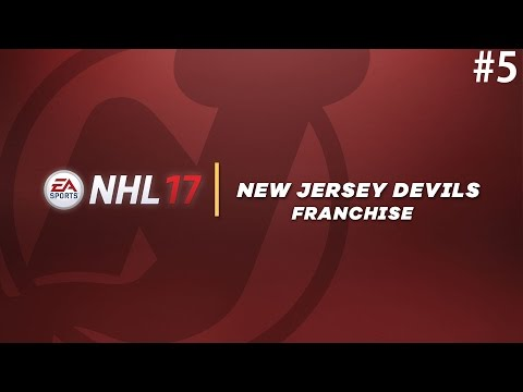 NHL 17: Franchise Mode #5 'First Draft, Free Agency'