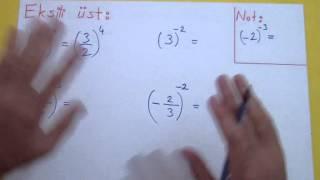 Üslü Sayılar 1 Şenol Hoca Matematik