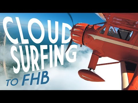 Cloud Surfing In A Vintage Biplane: Flight Vlog