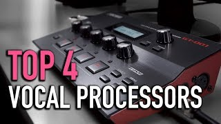 TOP 4: Vocal Processors 2018-Must Watch Before Buying