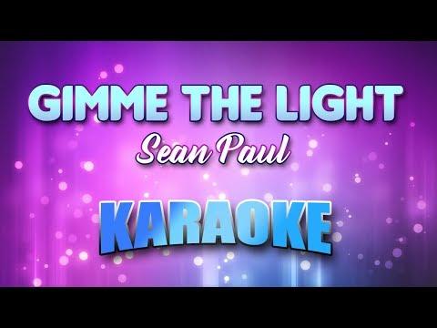 Sean Paul - Gimme The Light (Karaoke & Lyrics)