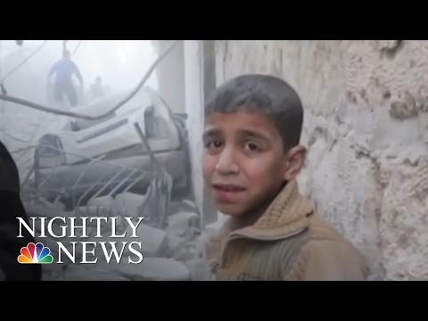 Aleppo Children's Hospital Hit In Airstrikes | NBC Nightly News