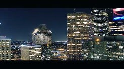 Houston at Night 4K