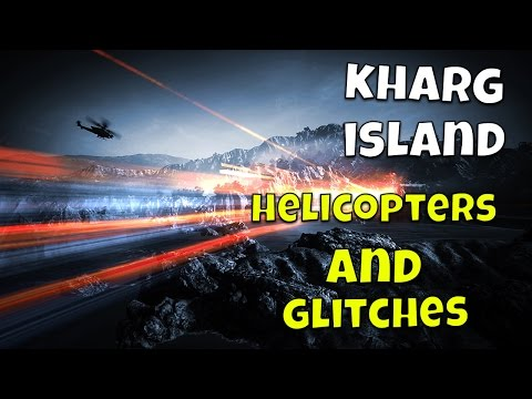 "Battlefield 3 - ""Kharg Island"" Glitched Floor and Attack Heli!"