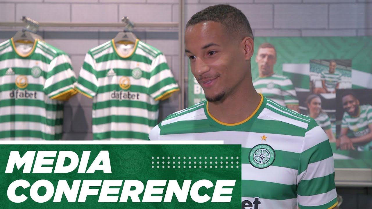 Chris Jullien | Media Conference | A green and white midnight as new kit released at brand new store