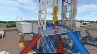 Simulated Well-Boring Immersion System for Shengli Oil-field