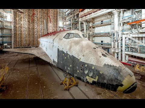 Russia's Mystery - Russia's abandoned space shuttles