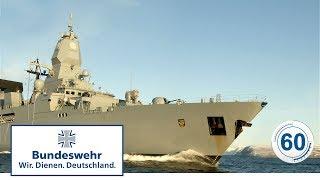 """60 Sekunden Bundeswehr: Fregatte """"Sachsen"""""""