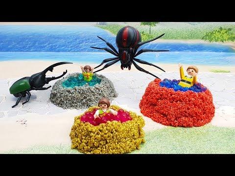 Мультики для детей с игрушками - Чудище из грейзера орбизов!