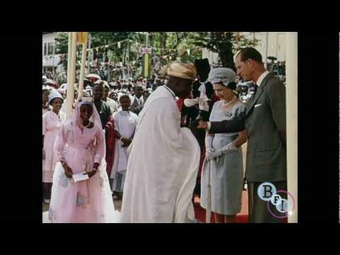Sierra Leone Greets the Queen (1962) - extract