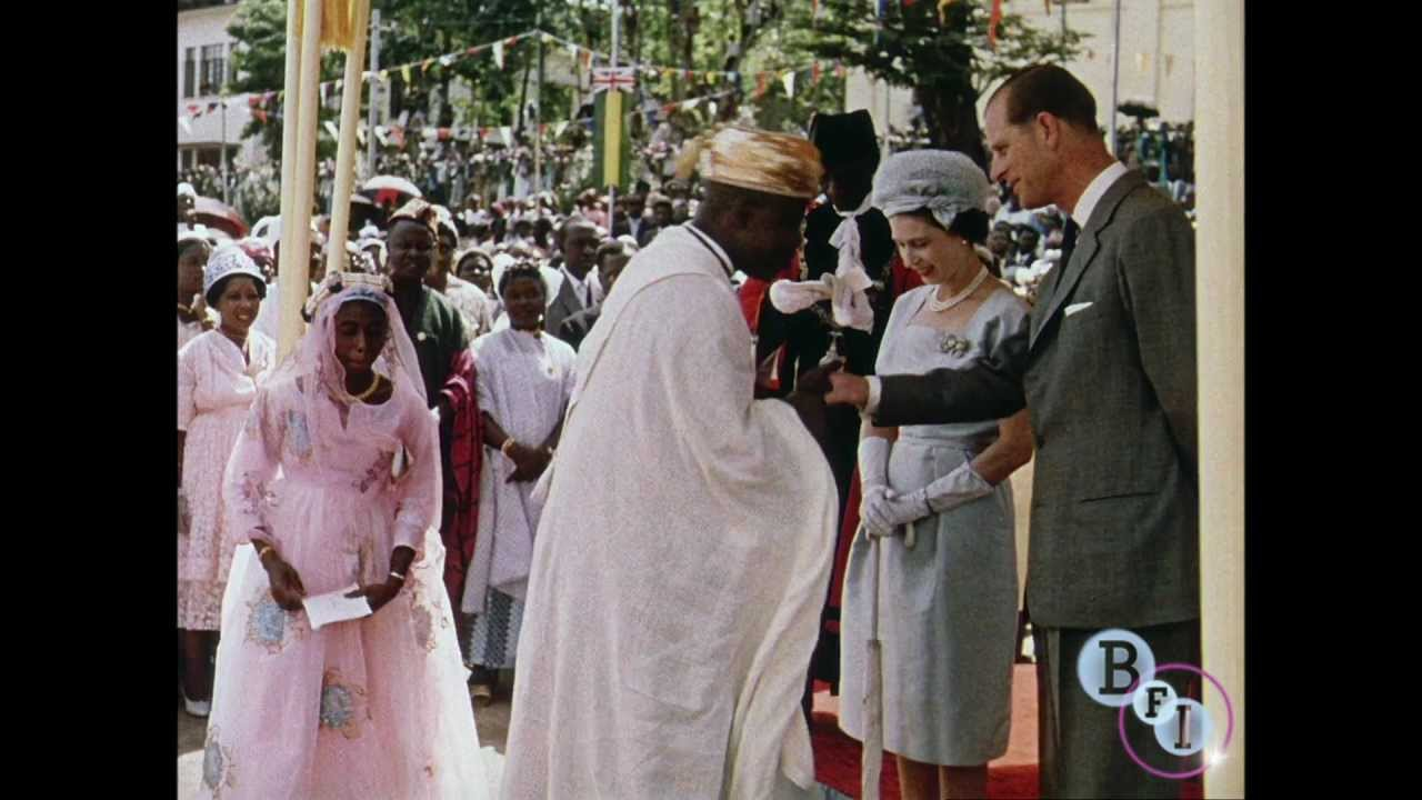 Sierra Leone Greets the Queen (1962) - extract - YouTube