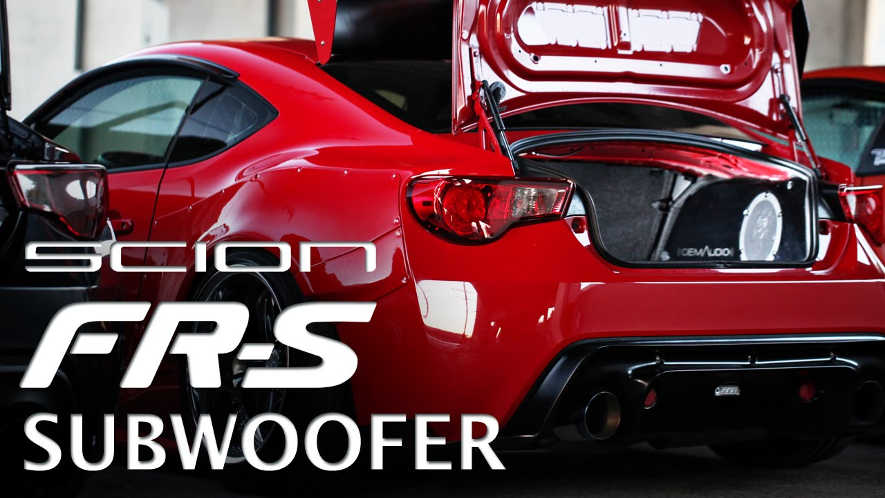Subwoofer System For The Scion Fr S Brz Youtube
