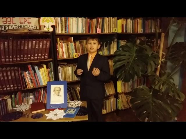 Изображение предпросмотра прочтения – ЕгорНестрогаев читает произведение «Чародейкою Зимою…» Ф.И.Тютчева