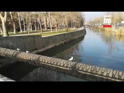Kerch.FM: Речку в Керчи засоряют в первую очередь сами люди