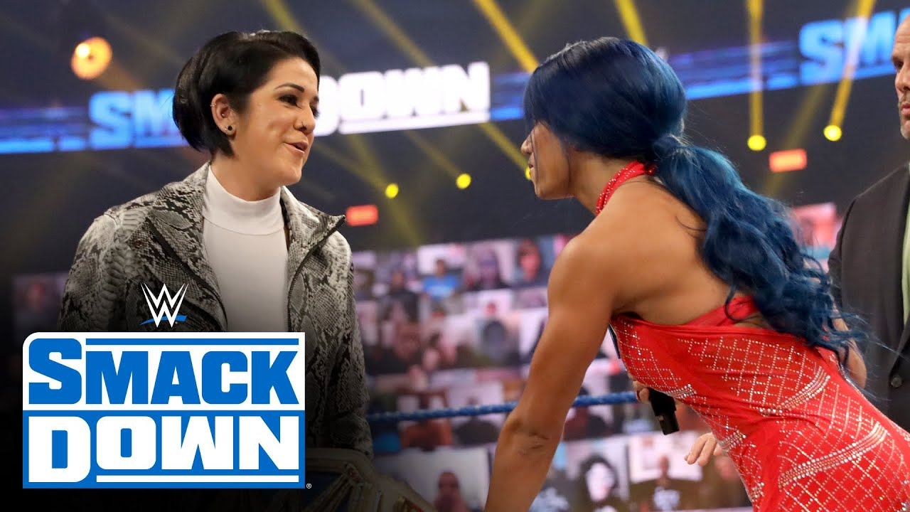 Bayley backs away from contract signing with Sasha Banks: SmackDown, Oct. 16, 2020