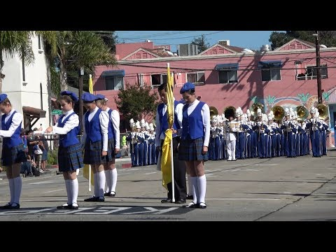Benicia High School Panther Marching Band at Santa Cruz Band Review 2017