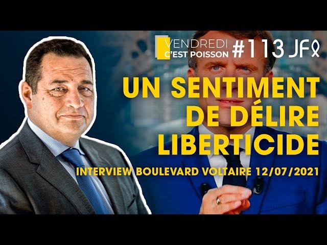 Macron incite les Français à se faire vacciner... Un sentiment de délire liberticide ! | VCP 113