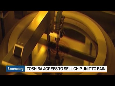 Toshiba Agrees to Sell Chip Unit to Bain-Led Group