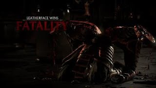 Mortal Kombat XL Leatherface Fight+ Fatality 1
