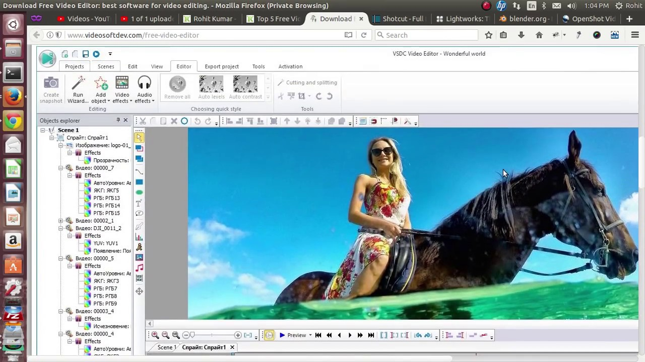 Top 5 Free Video Editing Software For Windows / Linux / Mac