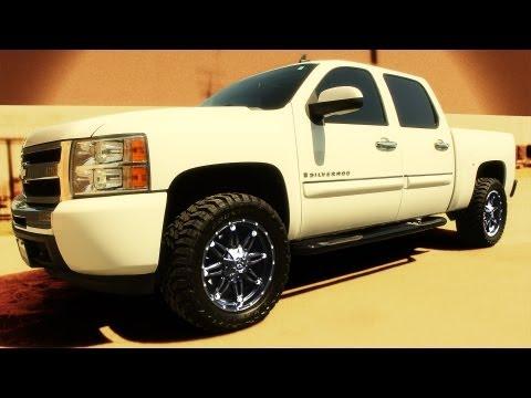 Fuel Hostage Wheels On 2009 Chevrolet Silverado