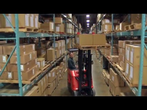 Raymond Stand Up Forklift | Stand Up Counterbalanced Forklifts