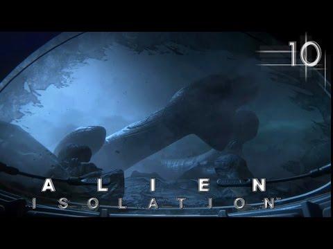 Прохождение Alien: Isolation... Прометей?...Ч10