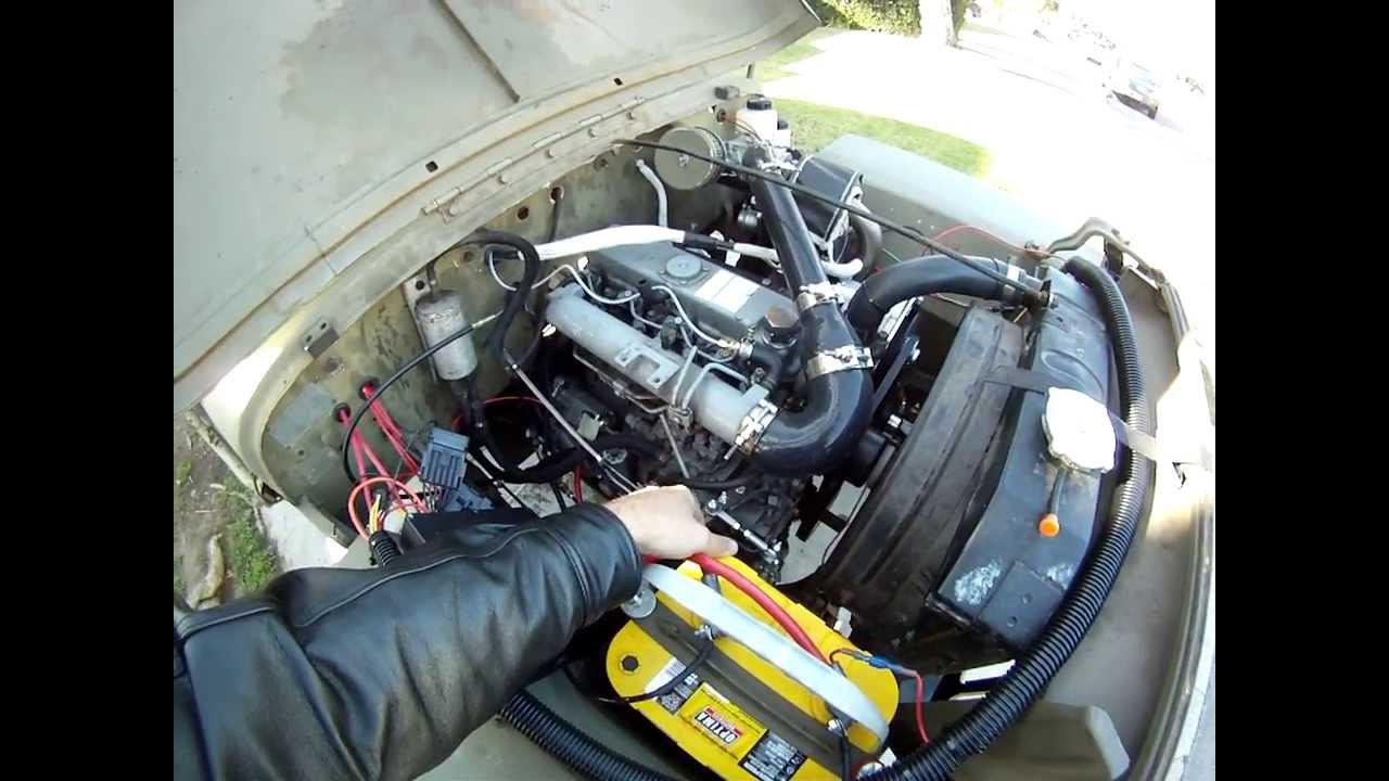 Cummins Turbo Diesel >> turbo diesel willys - YouTube